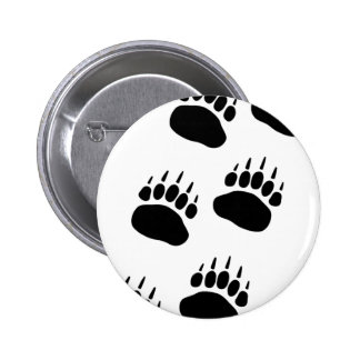 Bear Paw Track Button