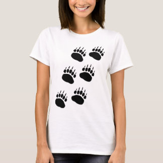 Bear Paw Track T-Shirt