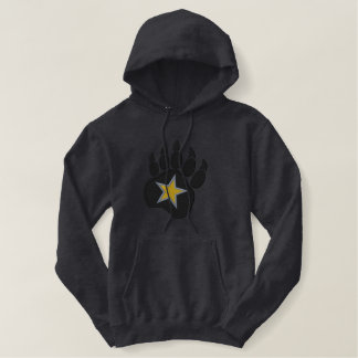 Bear Paw Wild Star Embroidery Embroidered Hoodie