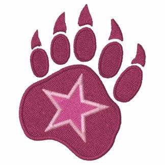 Bear Paw Wild Star Embroidery Hoodie