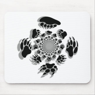 Bear Paws Mouse Pad