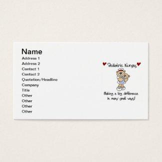 Bear Pediatric Nurses T-shirts and Gifts Business Card