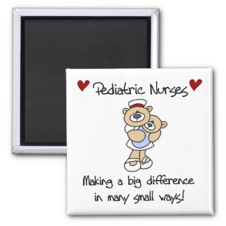Bear Pediatric Nurses T-shirts and Gifts Magnet