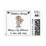 Bear Pediatric Nurses T-shirts and Gifts Postage Stamps