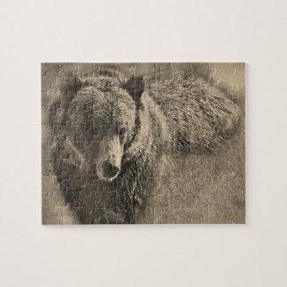 Bear Pencil 24x20 Jigsaw Puzzle