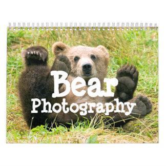 Bear Photography Calendar