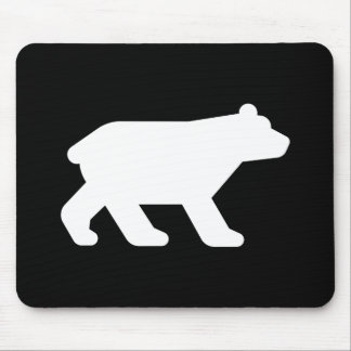 Bear Pictogram Mousepad