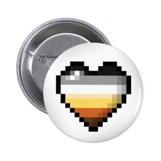 Bear Pixel Heart Button