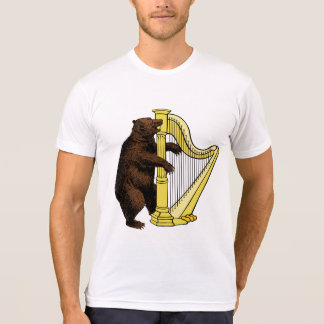 Bear Playing Harp T-Shirt