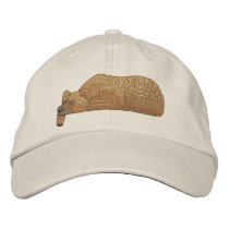 Bear Pocket Topper Embroidered Baseball Hat