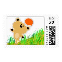 Bear Postage Stamp