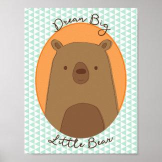 Bear Poster for a nursery