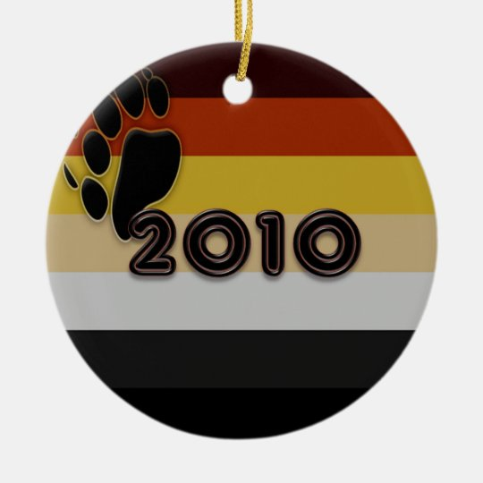 Bear Pride 2010 Ceramic Ornament