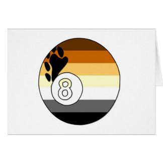 Bear Pride 8 Ball Card