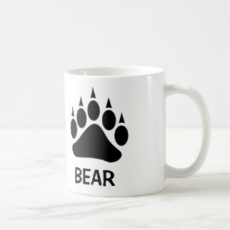 Bear Pride Bear Claw (Black) Coffee Mug