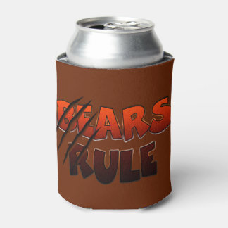 Bear Pride Bears Rule Claw Marks Can Cooler
