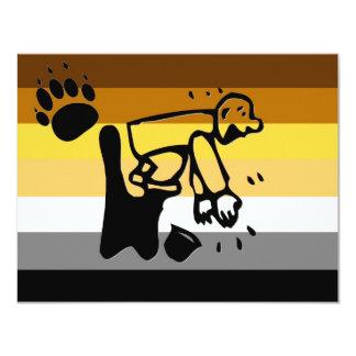 Bear Pride Clapper Card