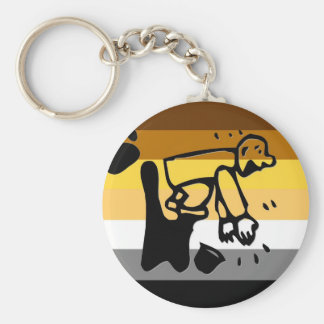 Bear Pride Clapper Keychain