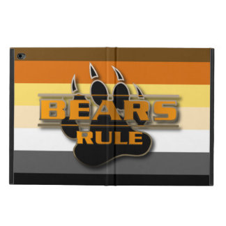 Bear Pride Colors Bears Rule Powis iPad Air 2 Case
