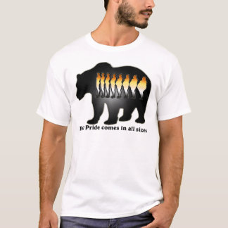 Bear Pride comes in all sizes Shirt