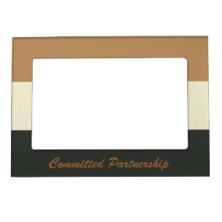 Bear Pride Committed Partnership Frame