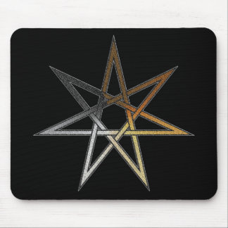 Bear Pride Fairy Star Mouse Pad