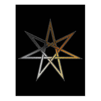 Bear Pride Fairy Star Postcard