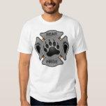 Bear Pride Firefighter Badge Dresses