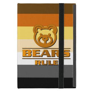 Bear Pride Flag Bears Rule Cases For iPad Mini