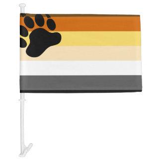 Bear Pride Flag Car Flag