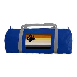 Bear Pride Flag Gym Duffel Bag