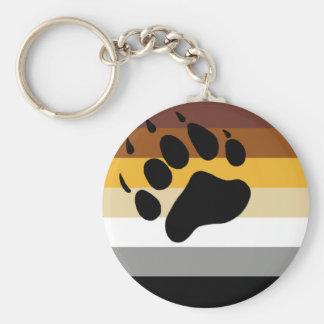 Bear Pride Flag Keychain