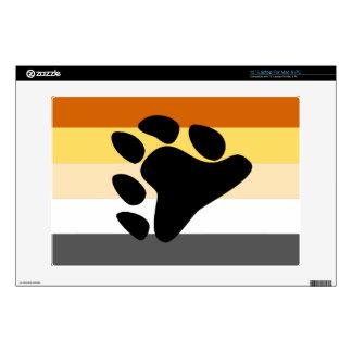 BEAR PRIDE FLAG LAPTOP SKIN