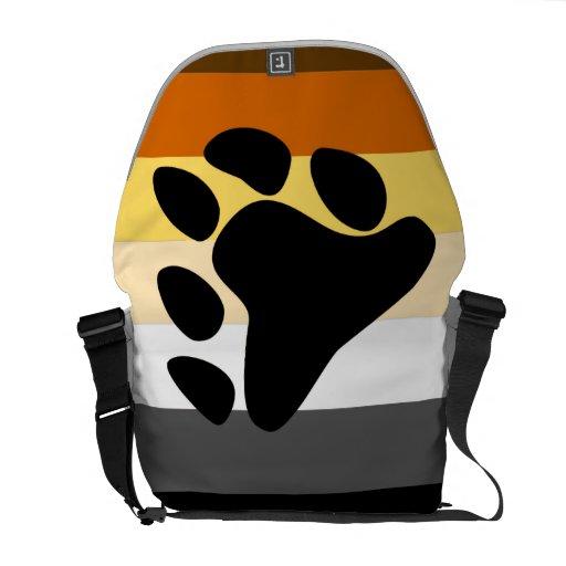 BEAR PRIDE FLAG MESSENGER BAG