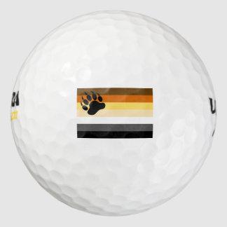 Bear Pride Flag Pack Of Golf Balls
