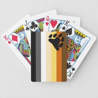 Bear Pride Flag Playing Cards