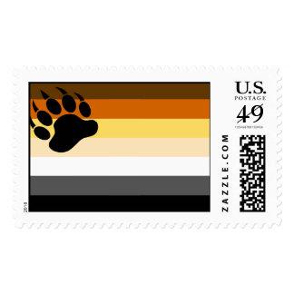 Bear Pride Flag Postage
