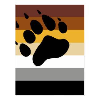 Bear Pride Flag Postcard