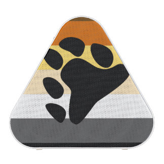 BEAR PRIDE FLAG STRIPES DESIGN.png Bluetooth Speaker