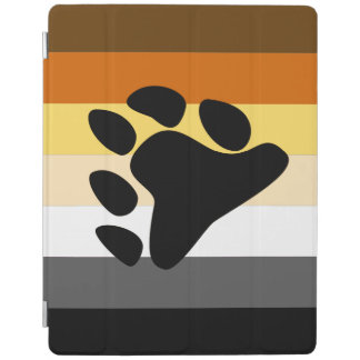 BEAR PRIDE FLAG STRIPES DESIGN.png iPad Cover