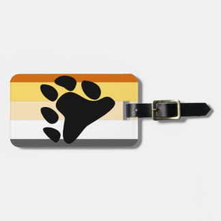 Bear Pride Flag Tag For Luggage
