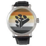 Bear Pride Flag Wristwatch at Zazzle