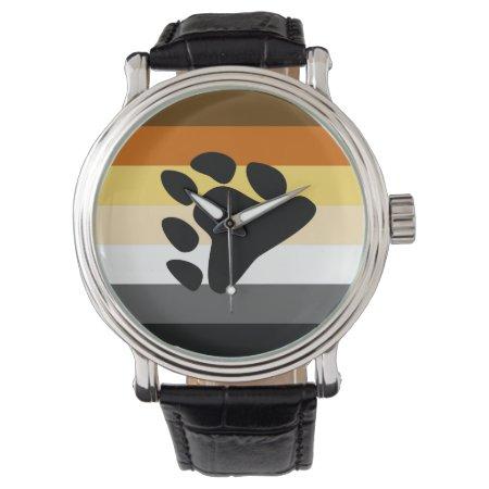 Bear Pride Flag Wristwatch