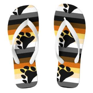 Bear Pride Flip Flops