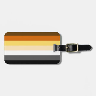 Bear Pride Gay Man Luggage Tag