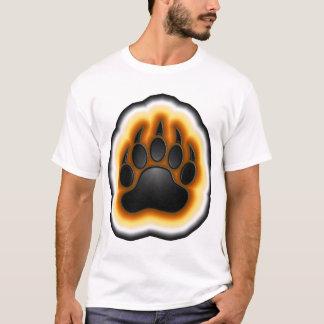 Bear Pride Glowing Paw T-Shirt