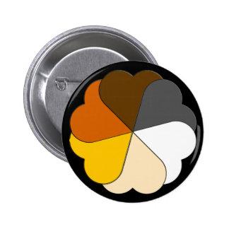 Bear Pride Hearts Button