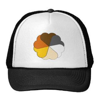 Bear Pride Hearts Trucker Hats