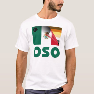 Bear Pride Mexican Flag Oso T-Shirt