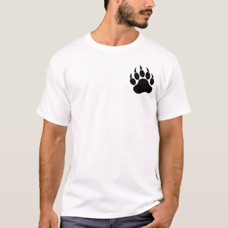 BEAR PRIDE ON THE BACK PAW IN THE FRONT - SHIRT